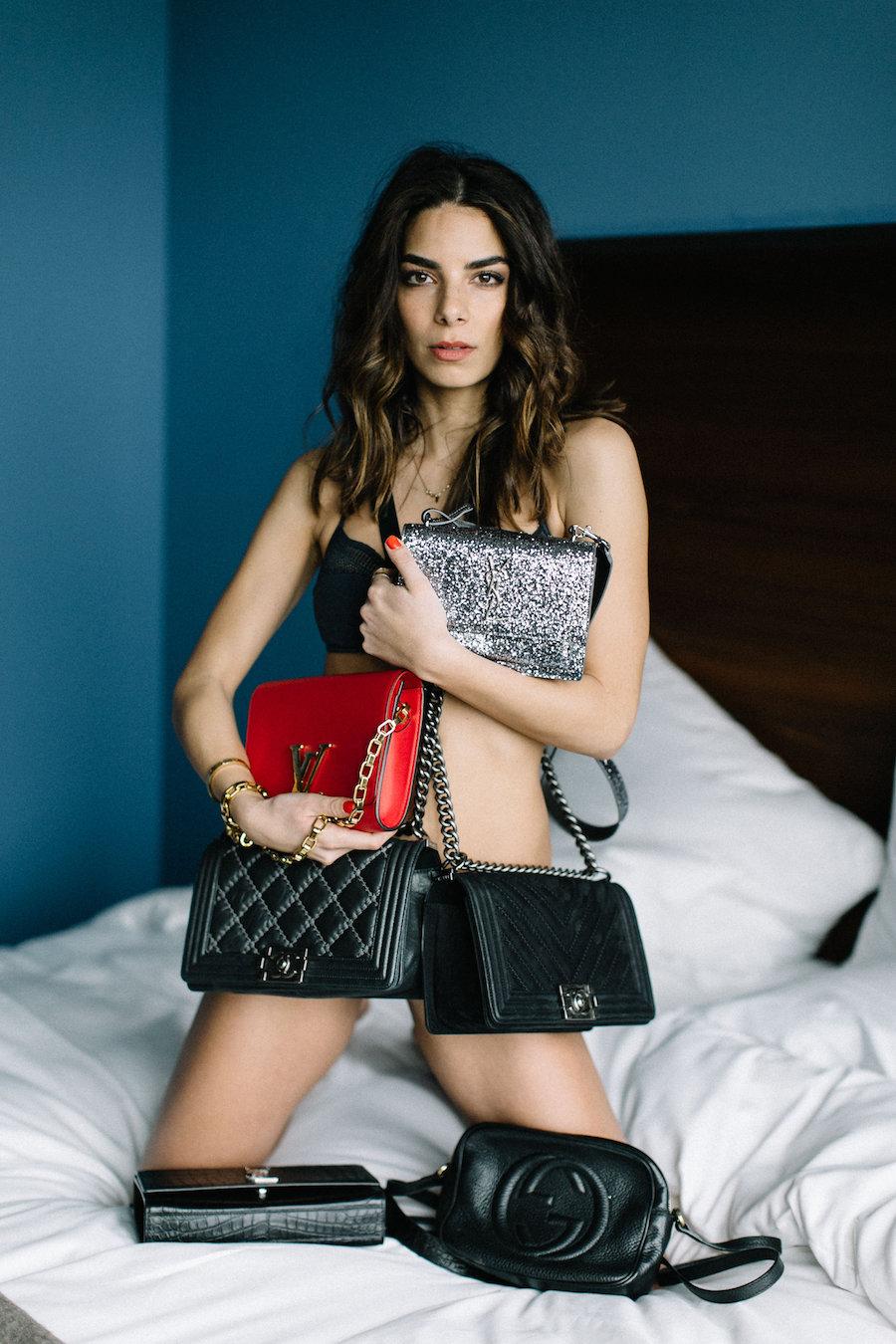 Chanel bags lilli Hollunder Instagram blogger