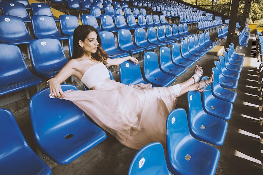 Stadion Fußball Bundesliga loge vip Spielerfrau lilli Hollunder